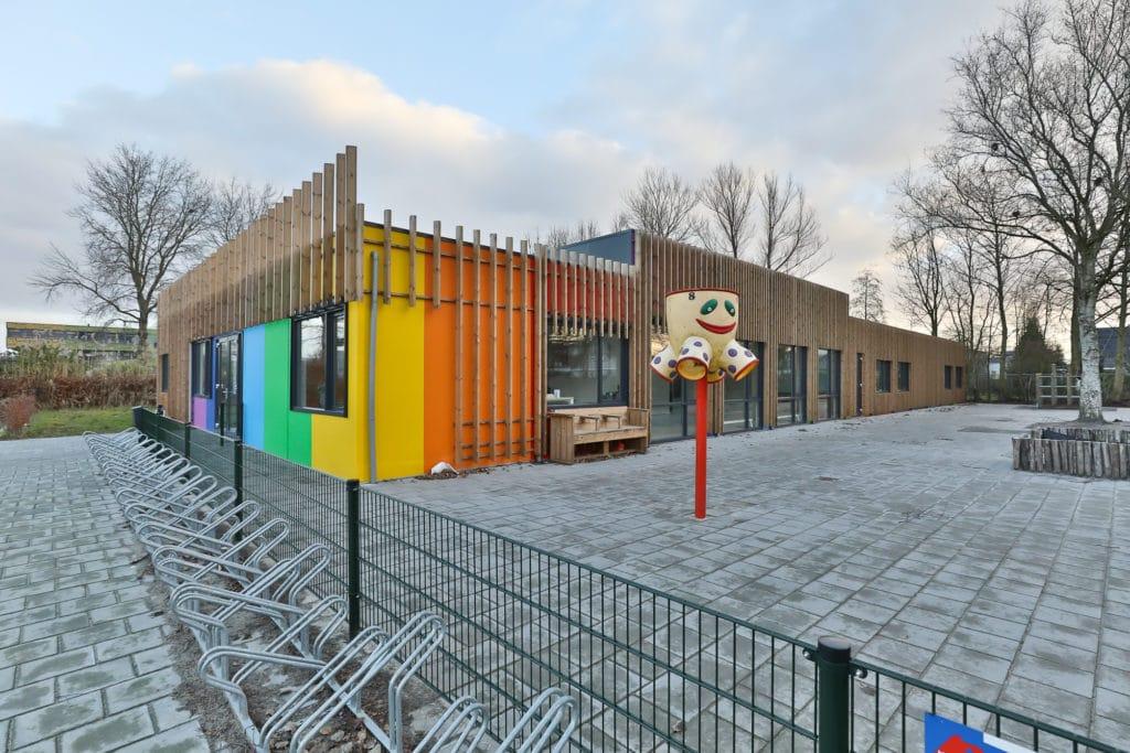 modulaire kinderdagverblijf